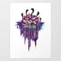 abyss Art Prints featuring Abyss by Corbin Kosak