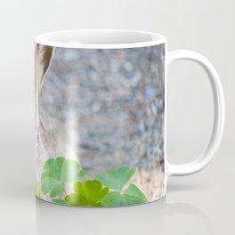 Rabbit Having Lunch Coffee Mug