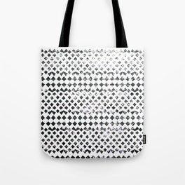 Glimmering Sea Water Mosaic Tote Bag