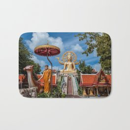 Big Buddha Temple Bath Mat