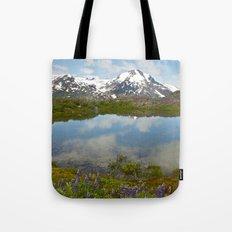 Alpine Pond Tote Bag