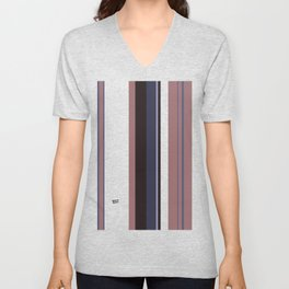 Kirovair Blocks Rosy Brown #minimal #design #kirovair #decor #buyart Unisex V-Neck