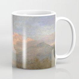 The Kongouro Oil Painting by Australian Artist George Stubbs Coffee Mug