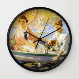 Colin Campbell Cooper 1918 Summertime Wall Clock