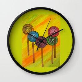 Lollypop Wall Clock