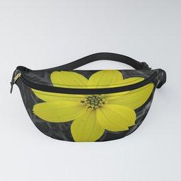 Happy yellow flower - Colour Splash Fanny Pack