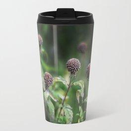 The Grey Allium Garden Travel Mug