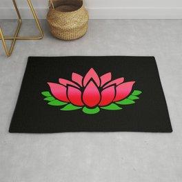 Red Lotus Rug