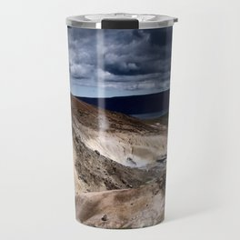 geothermal activity Travel Mug