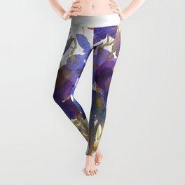 Petite Violets Leggings