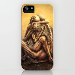 Beksinski love iPhone Case