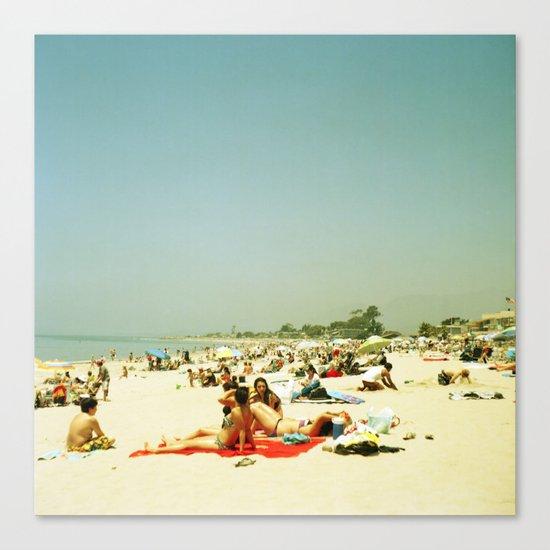 Summer Sun Canvas Print
