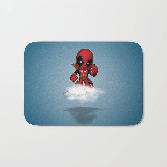 I'm Diedpool Flying Bath Mat