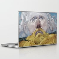 sam smith Laptop & iPad Skins featuring Sam Beam by Nick Sadek Illustration