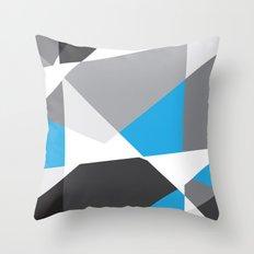 Geometrix 001 Throw Pillow