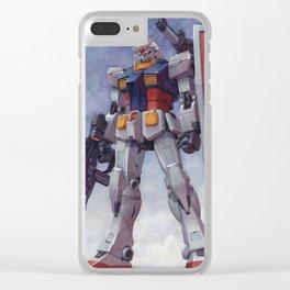 Gundam RX-78-2 Origin ver. Clear iPhone Case