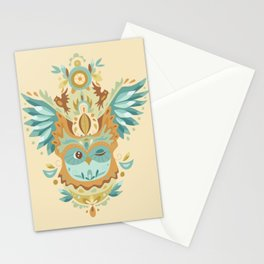 Owl Wings Stationery Cards