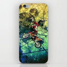 racing bike iPhone & iPod Skin