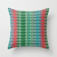 Deco Garden Throw Pillow