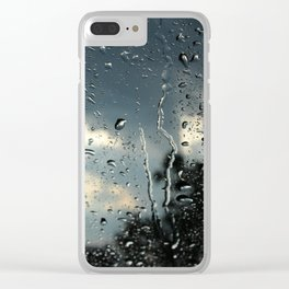 Raindrops in Colorado Clear iPhone Case