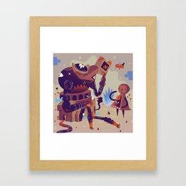 Day Dreamer feat Lost Traveler Framed Art Print