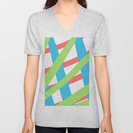 ColoredLines Unisex V-Neck