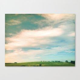 Field + Sky Canvas Print