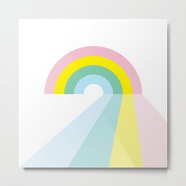 Life is a journey, Enjoy the Pride! #rainbow #Pride #lifestyle Metal Print