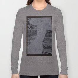 Reading Modigliani  Long Sleeve T-shirt