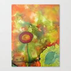 Faces In The Cloud Canvas Print