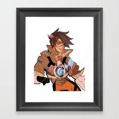 tracer Framed Art Print