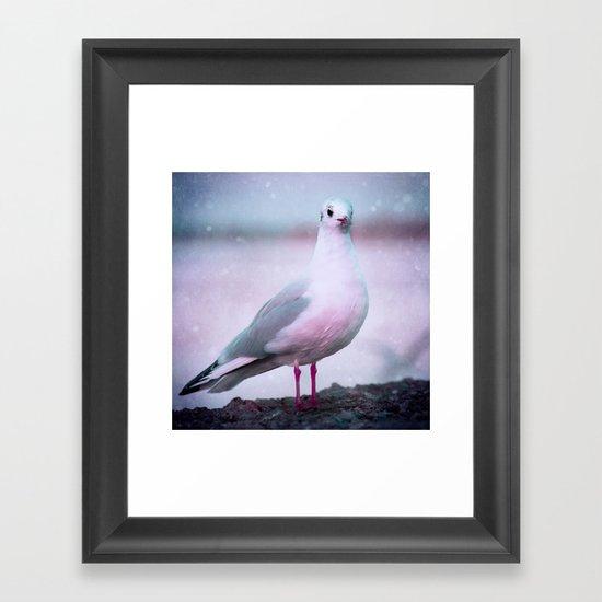 SONGS OF A BIRD I Framed Art Print