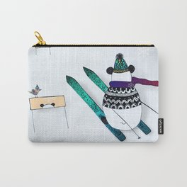 Pandas gone skiing Carry-All Pouch