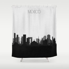 City Skylines: Mexico Shower Curtain