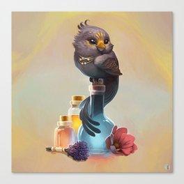 Healer's Towhee Canvas Print