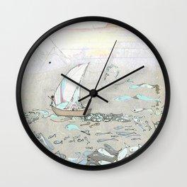 North by North Wall Clock