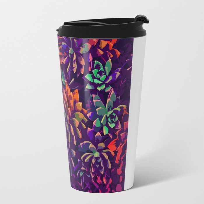 Cali Succulents 3 Travel Mug