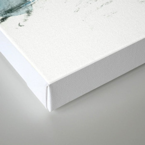 dissolving blues Canvas Print
