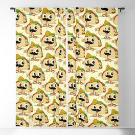 taco day Blackout Curtain