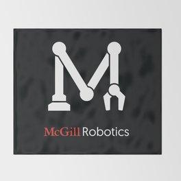 McGill Robotics Classic Throw Blanket