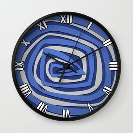 Vortex Eddy Wall Clock