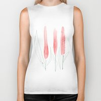 tulip Biker Tanks featuring TuliP by Ceren Aksu Dikenci