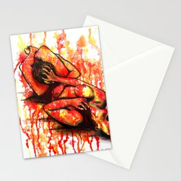 Fight For Your Rights - Erotic Art Sex Sexual Nude Figurative Stationery Cards