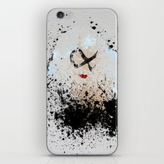 The Black Kitty iPhone & iPod Skin