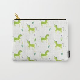 Green unicorn Carry-All Pouch