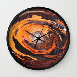 The Sleeping Eye Wall Clock