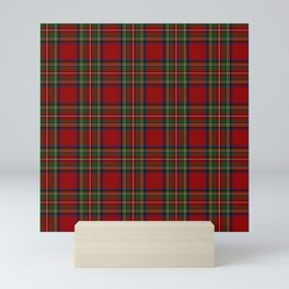 The Royal Stewart Tartan Mini Art Print