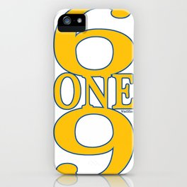 6ONE9 (619) iPhone Case