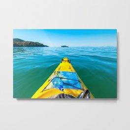 Abel Tasman Kayaking, New Zealand Metal Print