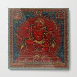 Kurukulla - Tibetan Buddhism Metal Print